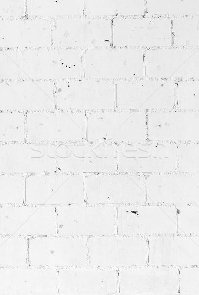 White vintage brickwall Stock photo © vichie81