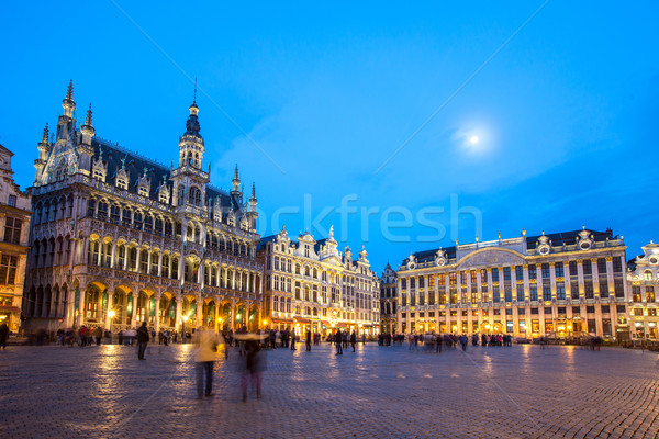 Grand Place Brussels, Belgium Stock photo © vichie81