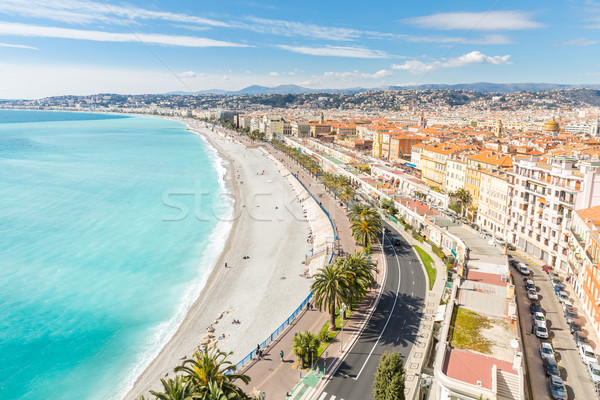Frankrijk mooie middellandse zee strand zee zomer Stockfoto © vichie81