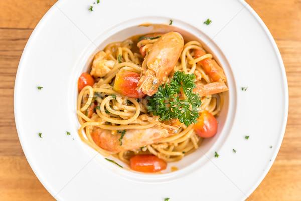 Prawn Pasta Stock photo © vichie81