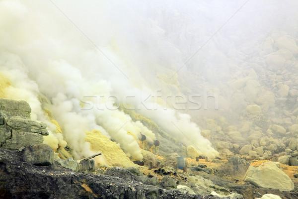мои пейзаж вулкан кратер Ява острове Сток-фото © vichie81