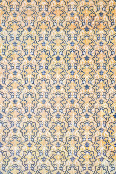 плитка Готский стены королевский текстуры Vintage Сток-фото © vichie81