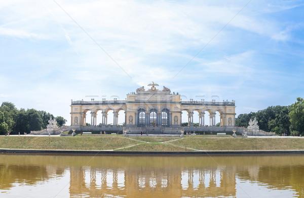 Schonbrunn Palace Garden Gloriette Stock photo © vichie81