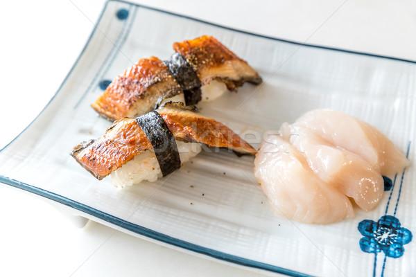 Unagi Sushi Stock photo © vichie81