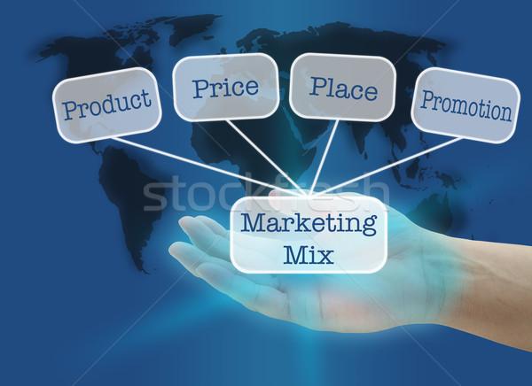 business marketing Stock photo © vichie81