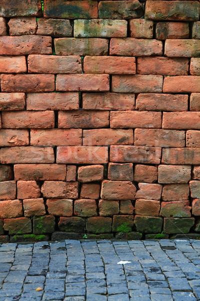 brick wall Stock photo © vichie81