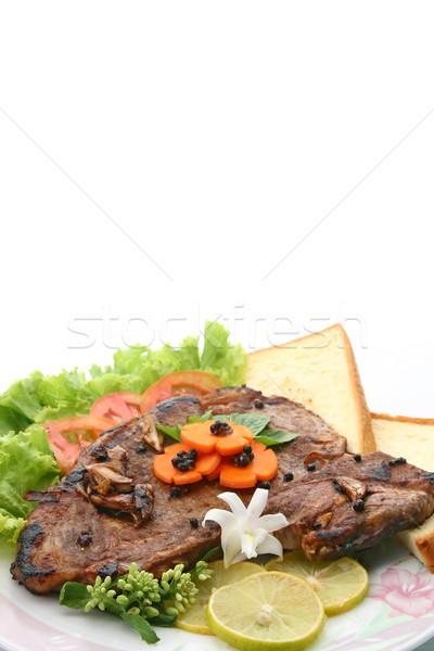 T Bone Pepper Steak Stock photo © vichie81
