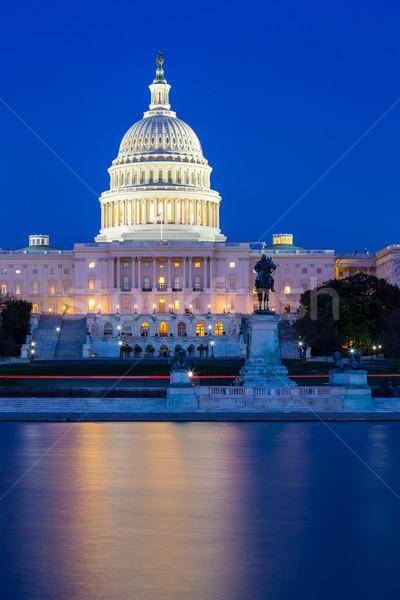 US Capitol Building Washington DC Stock photo © vichie81