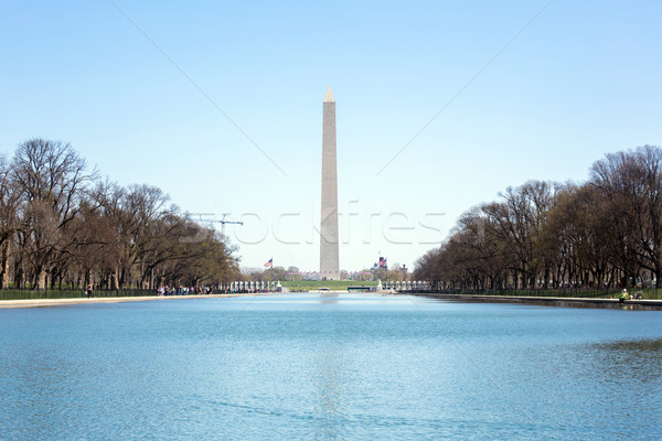 Washington Monument Stock photo © vichie81