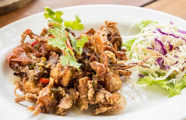 deep fried soft shell crab Stock photo © vichie81