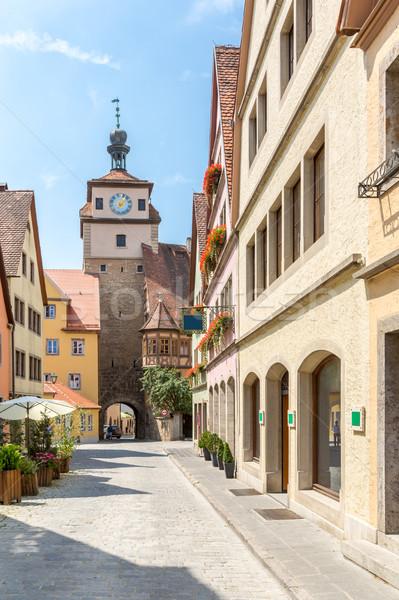 Stockfoto: Duitsland · historisch · stad · hemel · gebouw · stad
