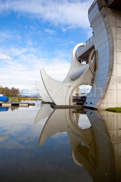 Falkirk Wheel, Scotland Stock photo © vichie81