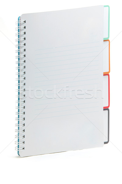Ring binding book with document Stock photo © vichie81