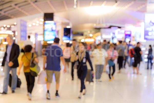 Aeropuerto embarque borroso negocios fondo viaje Foto stock © vichie81