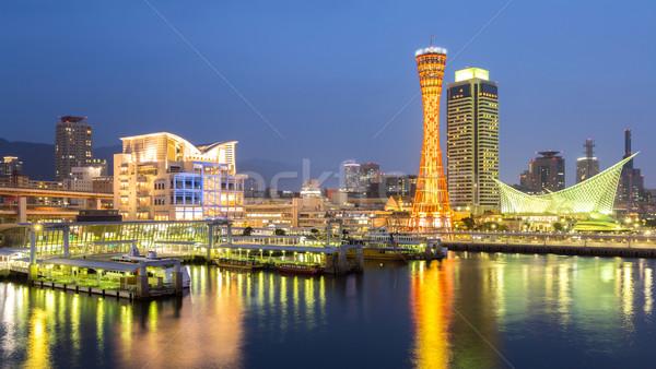 Kobe Tower Panorama Stock photo © vichie81