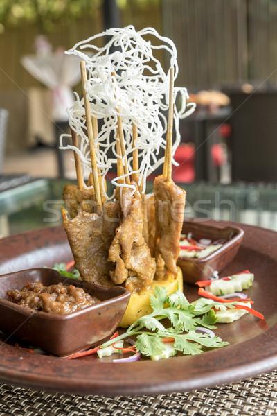 Сток-фото: куриные · тайский · продовольствие · обеда · мяса · азиатских