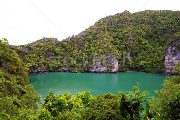 Lagoon at Samui Island Thailand Stock photo © vichie81