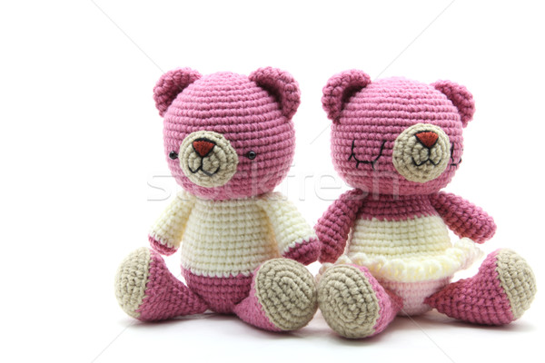 couples bear doll Stock photo © vichie81