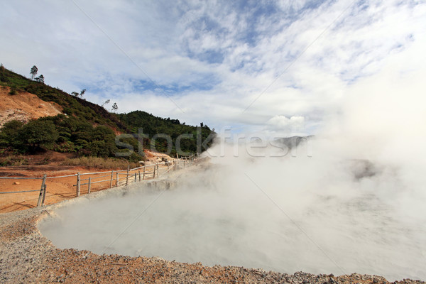 泥 火山 インドネシア 高原 公園 ジャワ ストックフォト © vichie81