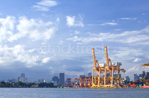 Sea Port Terminal  Stock photo © vichie81