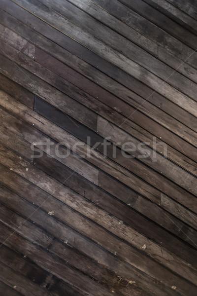 Dark Wood Background Stock photo © vichie81
