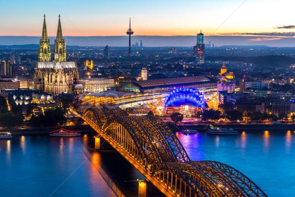Cathédrale Allemagne bâtiment Photo stock © vichie81