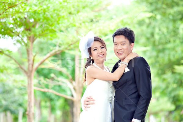 Happiness couples Stock photo © vichie81