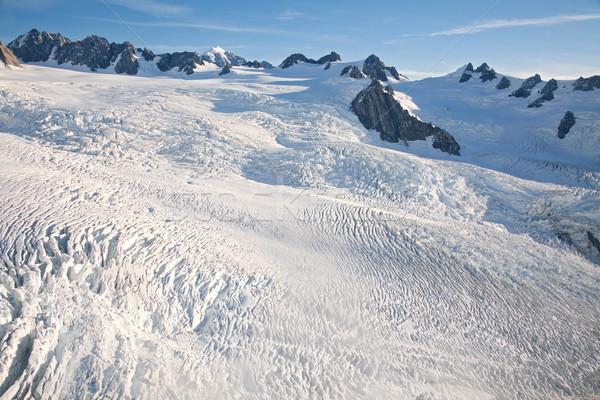 winter landscape Aerial Stock photo © vichie81