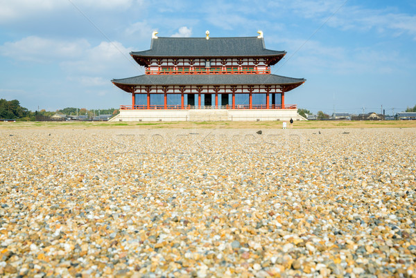 Heijo Palace Nara Japan Stock photo © vichie81