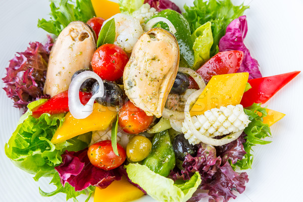 Greek Seafood Salad Stock photo © vichie81