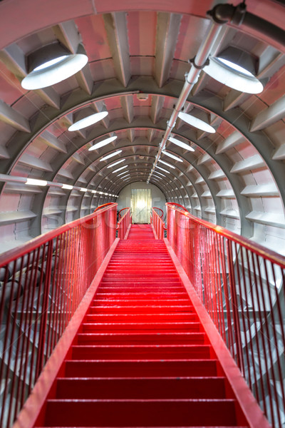 Red stairway sucessful concept Stock photo © vichie81