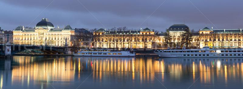 Lyon University bridge France Stock photo © vichie81