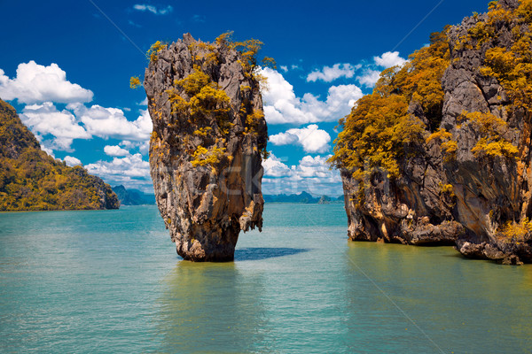 James Bond Island in Phang Nga Bay, Thailand Stock photo © Victoria_Andreas