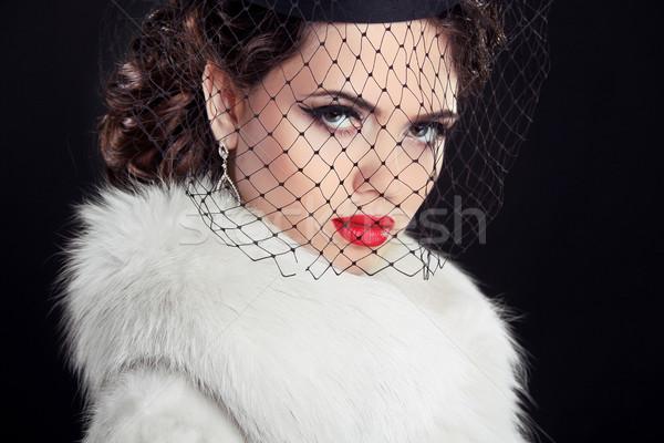 красоту портрет страстный элегантный женщину горячей Сток-фото © Victoria_Andreas