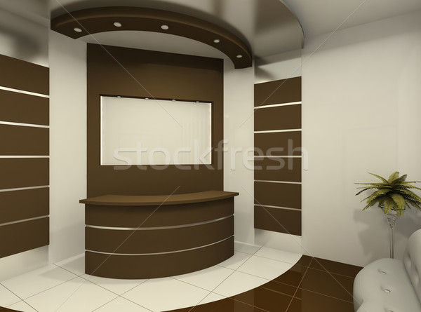 Reception desk in modern room Stock photo © Victoria_Andreas