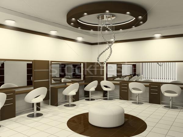 Stock photo: Interior of Luxury Beauty Salon