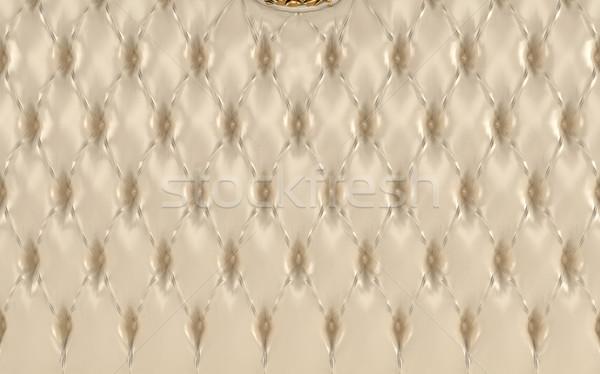 Foto d'archivio: Lusso · beige · texture · pelle · pattern · reale
