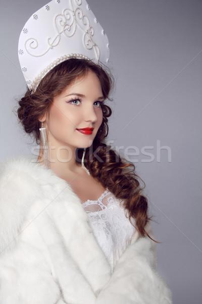 Stockfoto: Russisch · schoonheid · oude · Rusland