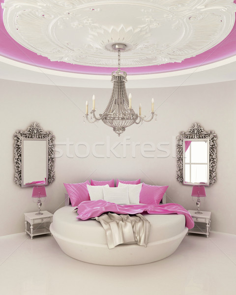 ceiling decor in modern bedroom  Stock photo © Victoria_Andreas