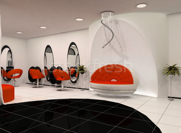 Outlook of luxury beauty salon Stock photo © Victoria_Andreas