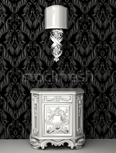 Baroque style in royal interior Stock photo © Victoria_Andreas