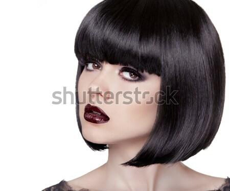 Brunette modèle mode lunettes de soleil belle glamour Photo stock © Victoria_Andreas