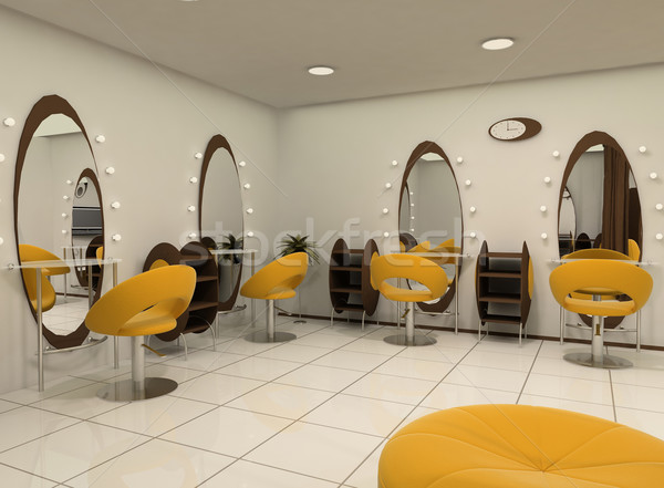 Outlook of luxury beauty salon Stock photo © Victoria_Andreas