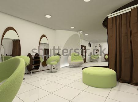 Outlook of luxury beauty salon interior space apartment Stock photo © Victoria_Andreas