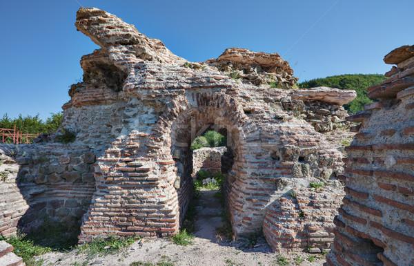 ворот крепость Болгария исторический римской горные Сток-фото © vilevi