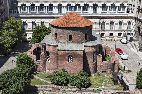 St. George Rotunda church Sofia Bulgaria Stock photo © vilevi