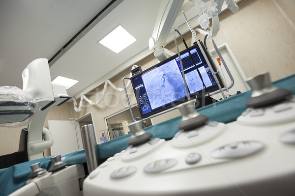 Ospedale cuore chirurgia stanza moderno monitor Foto d'archivio © vilevi