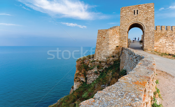 Stock photo: Fortress Kaliakra Black sea Bulgaria
