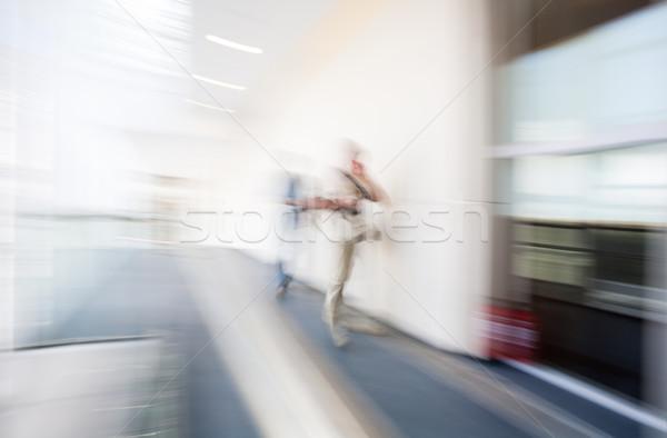 Blur interni umani movimento offuscata immagine Foto d'archivio © vilevi