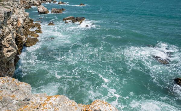 Beautiful Seashore Rocks Sea Ocean Stock photo © vilevi